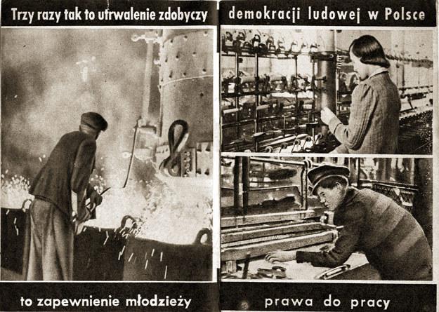 """Broszura nawołuyjąca do zagłosowania """"3 razy tak"""" /Agencja FORUM"""
