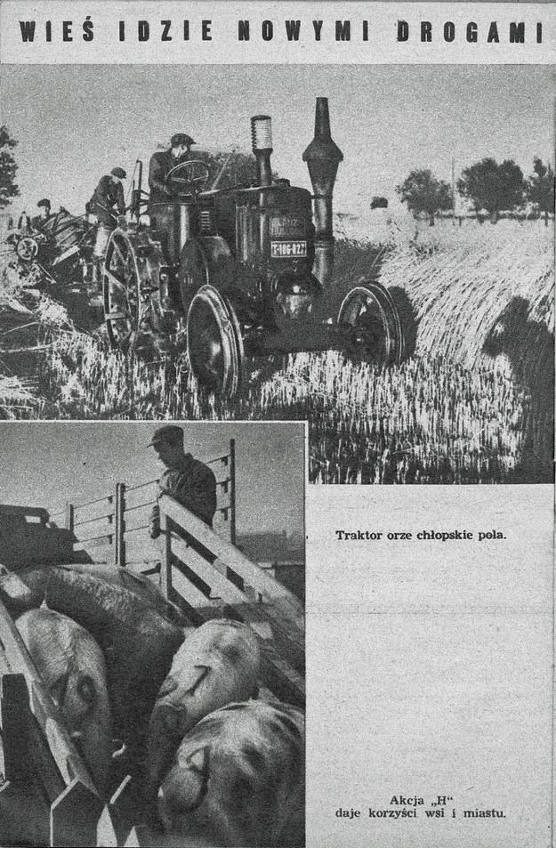 Broszura propagandowa wydana na pięciolecie PKWN /FoKa /Agencja FORUM