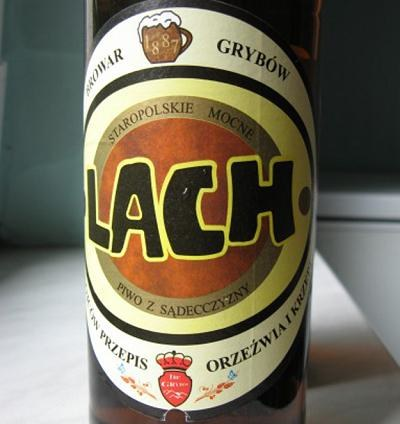 Browar Grybów wytwarzal m.in. piwo Lach /Informacja prasowa