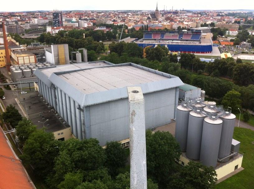 Browar z widokiem na stadion /INTERIA.PL