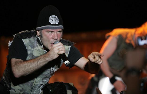 Bruce Dickinson, frontman Iron Maiden /arch. AFP