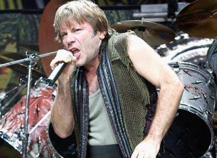Bruce Dickinson (Iron Maiden) zaśpiewa w grze video - fot. Tim Mosenfelder /Getty Images/Flash Press Media