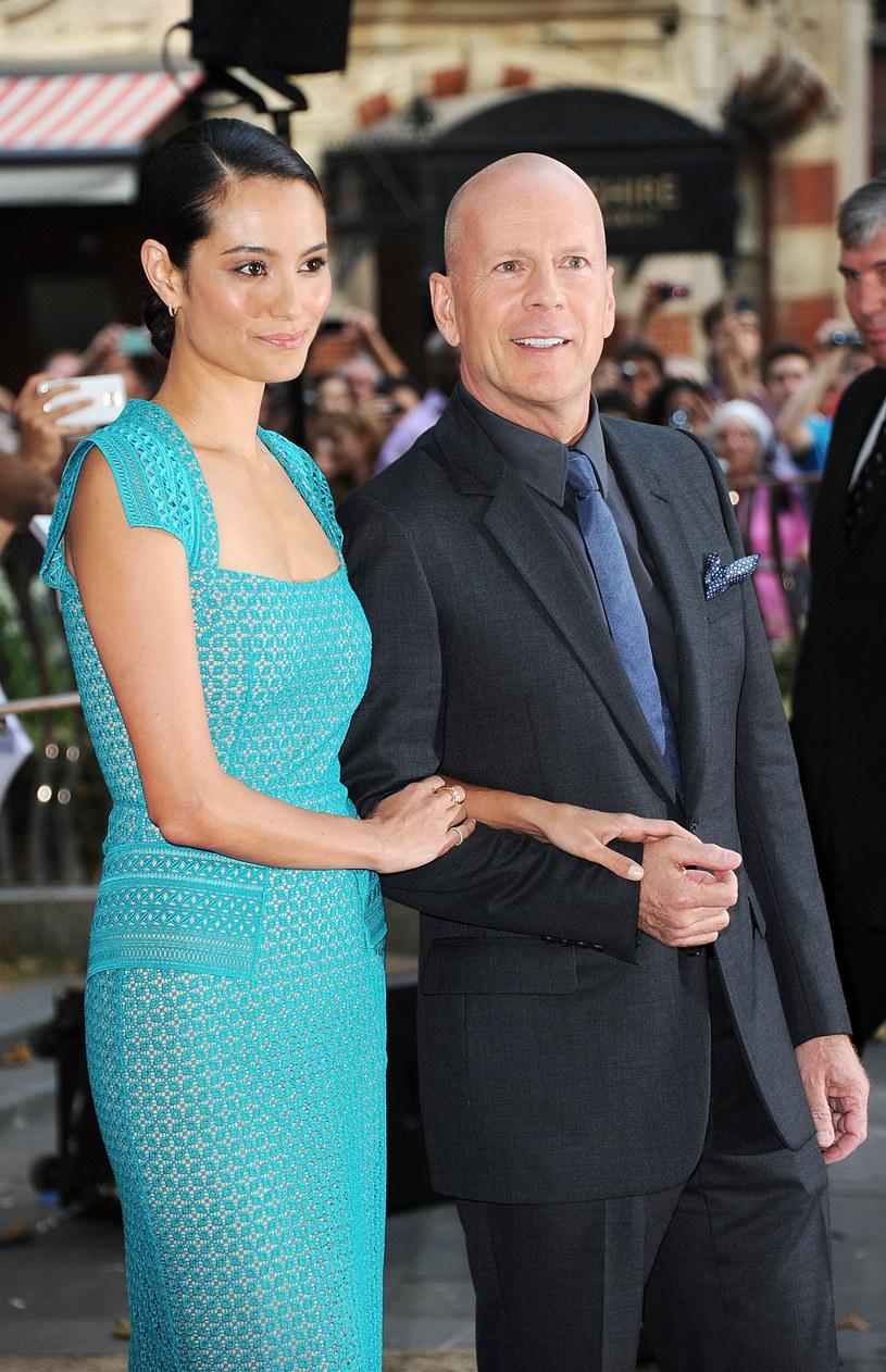 Bruce Willis i Emma Heimg /Stuart C. Wilson /Getty Images