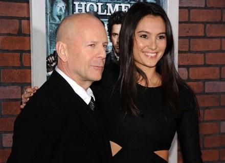 Bruce Willis i Emma Heming /Getty Images/Flash Press Media