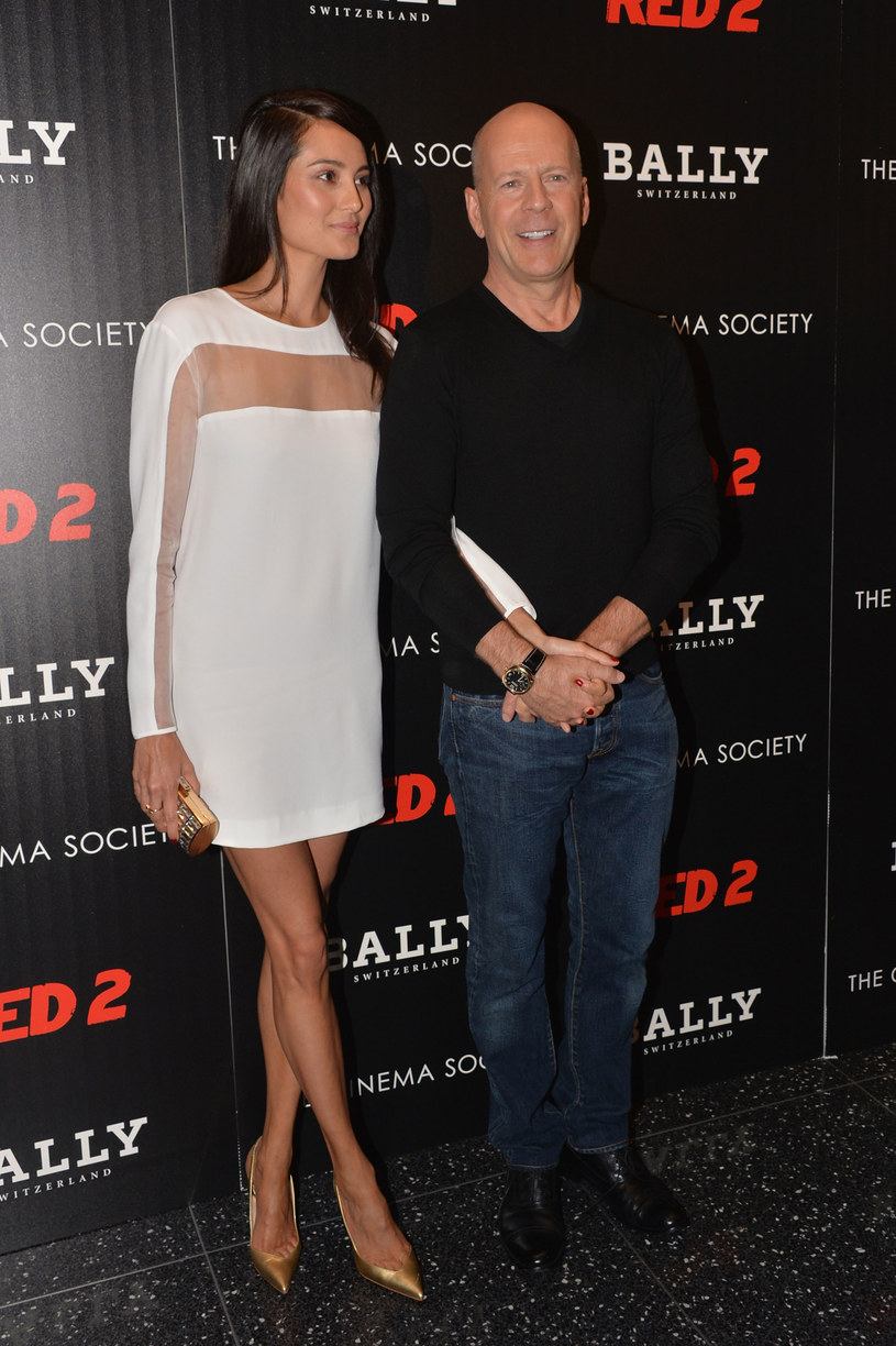 Bruce Willis i Emma Heming /Getty Images/Flash Press Media