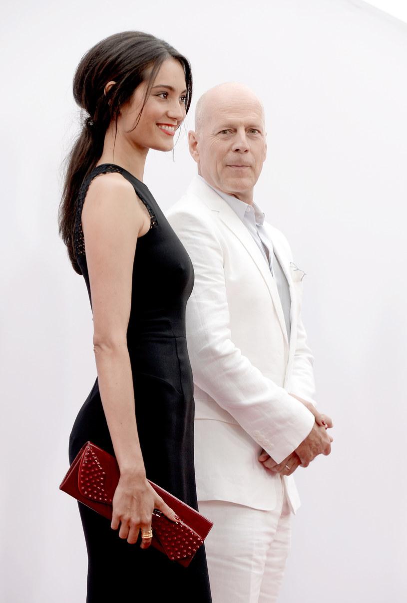Bruce Willis i Emma Heming /Kevin Winter /Getty Images