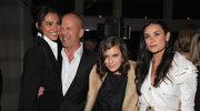 Bruce Willis mieszka w jednym domu z byłą żoną i obecną żoną