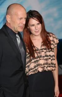Bruce Willis z córką Rumer  /Splashnews