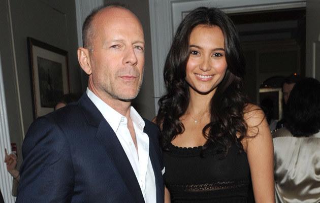 Bruce Willis z Emmą Heming, fot. Brad Barket  /Getty Images/Flash Press Media