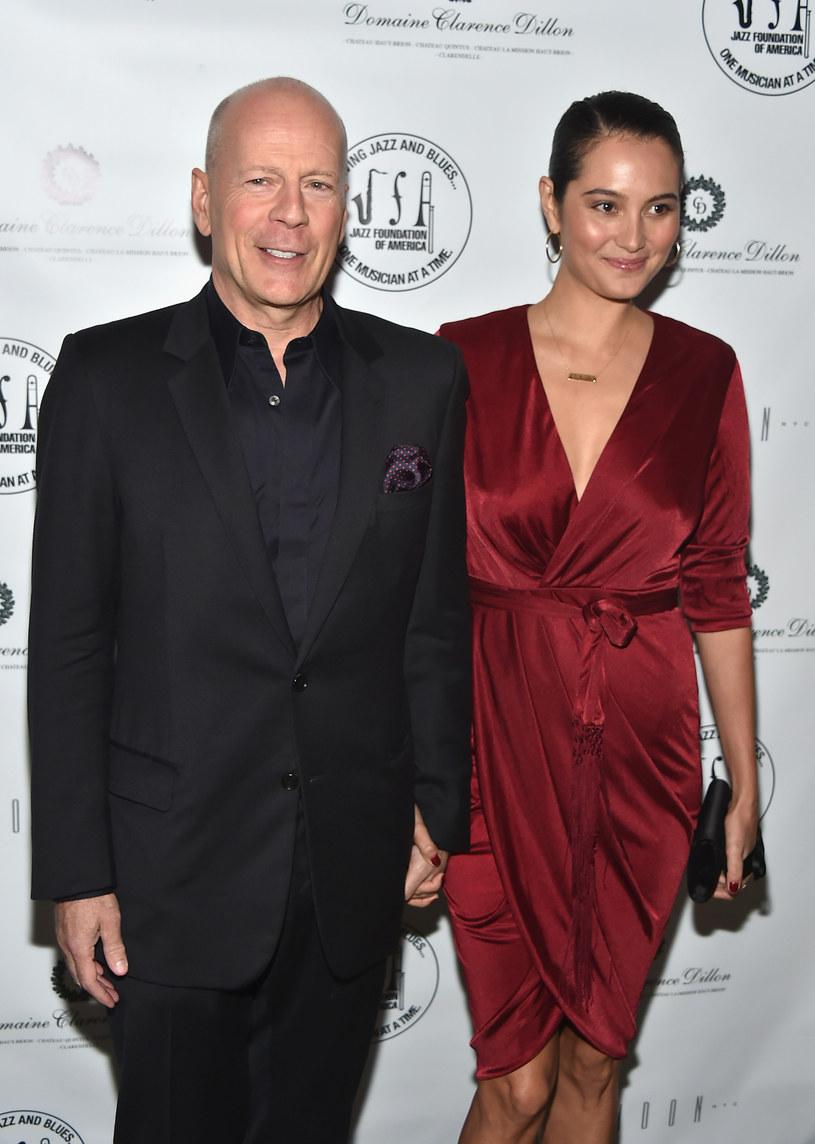 Bruce Willis z żoną /Theo Wargo /Getty Images