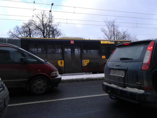 Brudne autobusy na ulicach Warszawy /Przemysław Mzyk /RMF FM