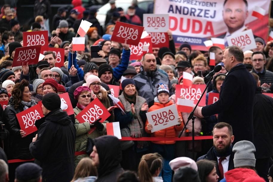 Brudziński apeluje do sztabu Kidawy-Błońskiej o potępienie agresji wobec wolontariuszy sztabu Dudy / Andrzej Grygiel    /PAP