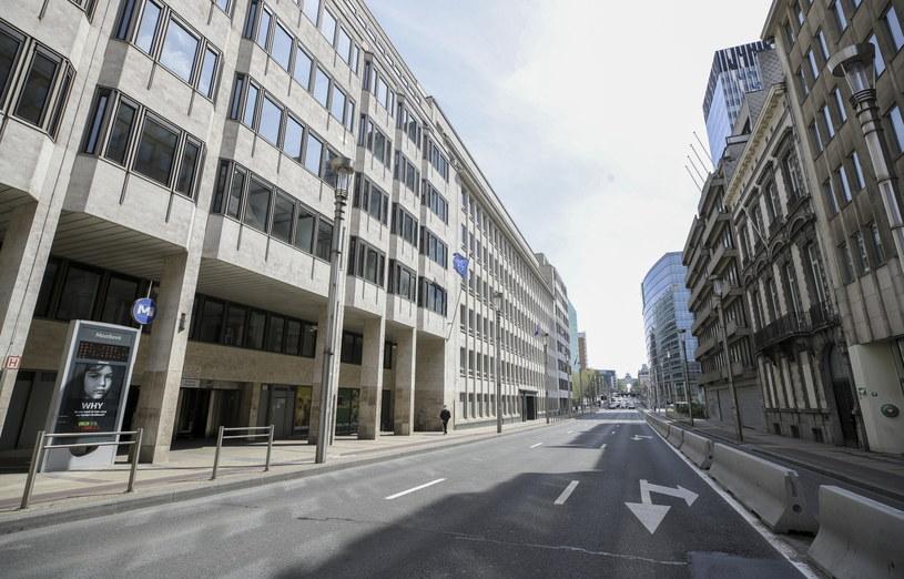 Bruksela wezwała ambasadora Rosji w sprawie sankcji nałożonych na przedstawicieli UE /PAP/EPA/OLIVIER HOSLET /PAP