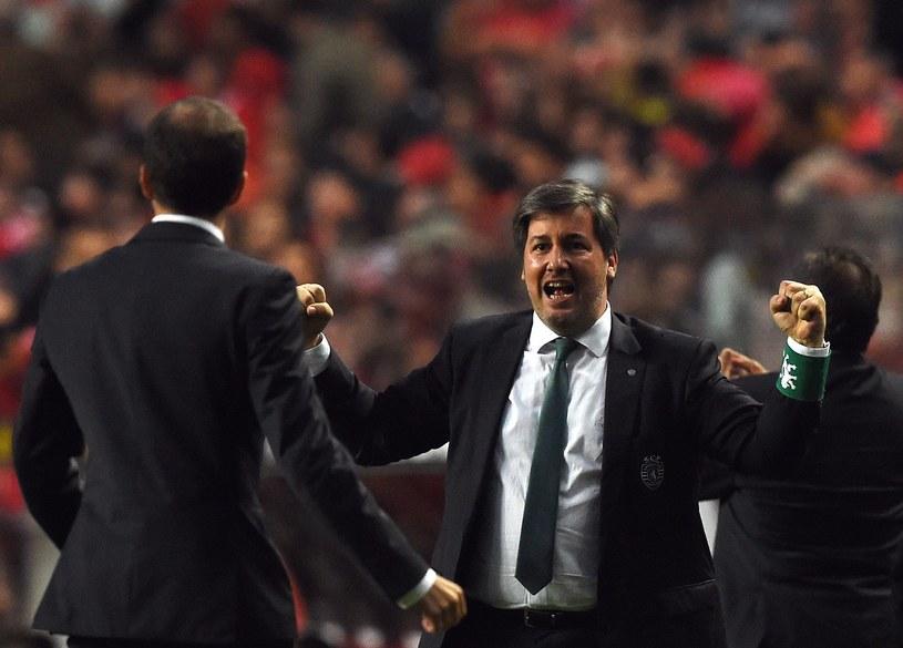 Bruno de Carvalho, prezes Sportingu Lizbona /AFP