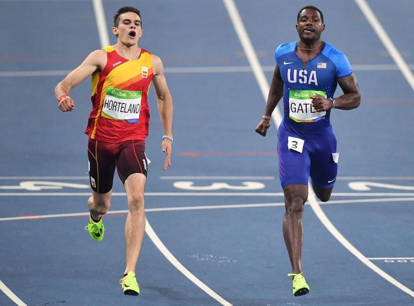 Bruno Hortelano (z lewej) podczas igrzysk w Rio /AFP