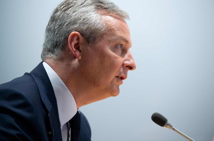 Bruno Le Maire, minister gospodarki i finansów Francji /AFP