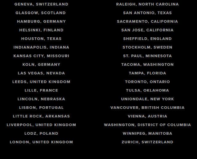 Bruno Mars ogłosił miasta, w których wystąpi w ramach światowej trasy koncertowej /oficjalna strona wykonawcy