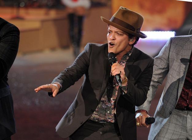 Bruno Mars po raz trzeci na szczycie - fot. Bryan Bedder /Getty Images/Flash Press Media