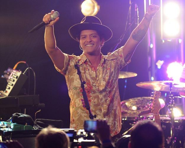 Bruno Mars światowym numerem jeden - fot. Bryan Bedder /Getty Images/Flash Press Media