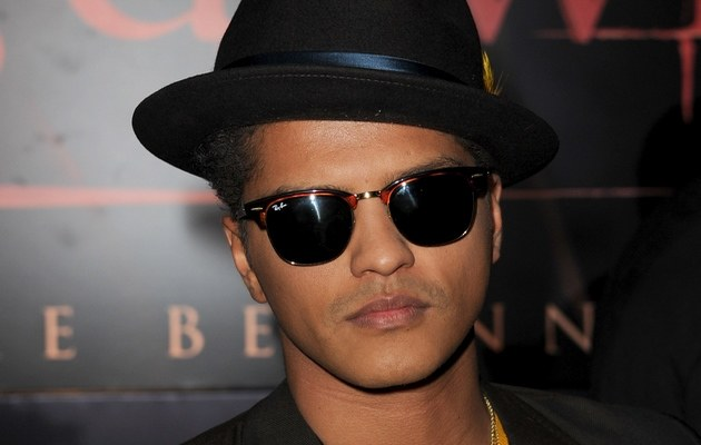 Bruno Mars /- /Getty Images