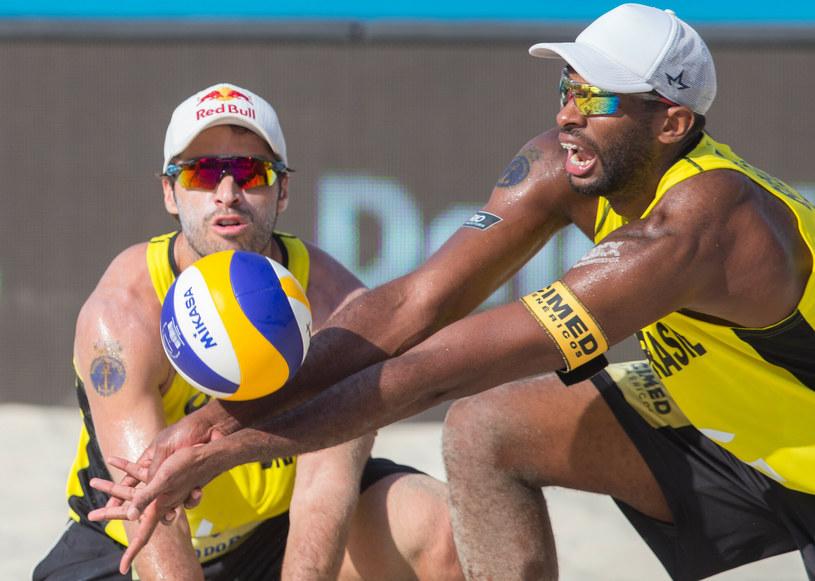 Bruno Schmidt (po lewej) /Foto Olimpik /East News