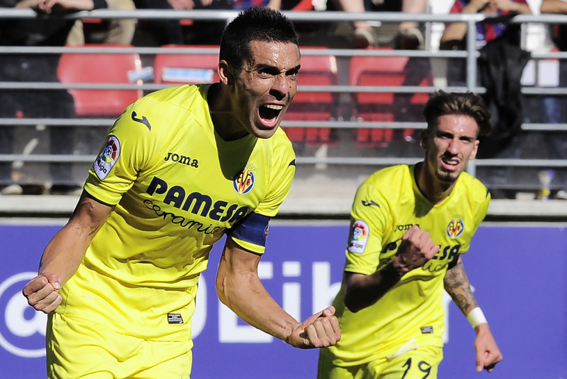 Bruno Soriano z ekipy Villarrealu /AFP