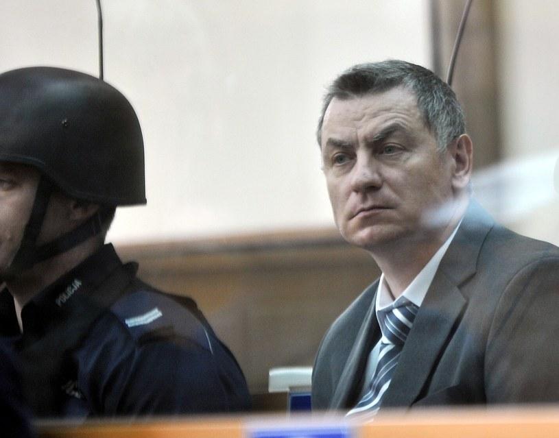 Brunon Kwiecień na sali rozpraw. /M. Lasyk /Reporter