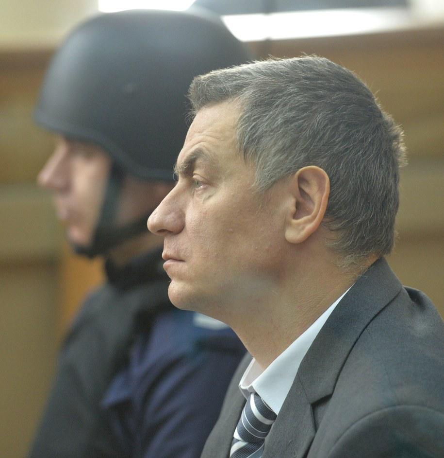 Brunon Kwiecień na sali sądowej / PAP/Jacek Bednarczyk /PAP