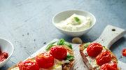 Bruschetta z pastą z suszonych pomidorów