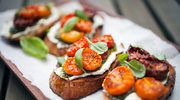 Bruschetta z pomidorami i ricotą
