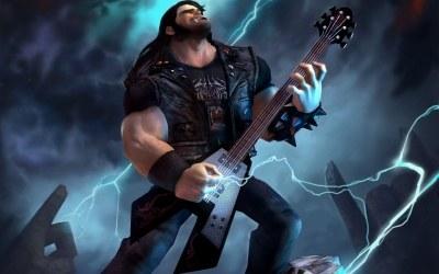 Brutal Legend - motyw z gry /Informacja prasowa