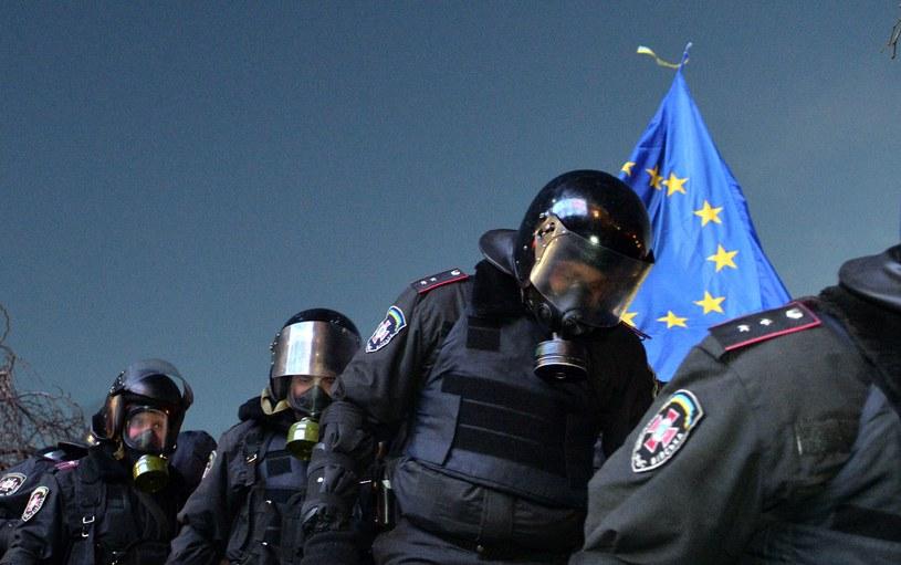 Brutalna akcja milicji /AFP