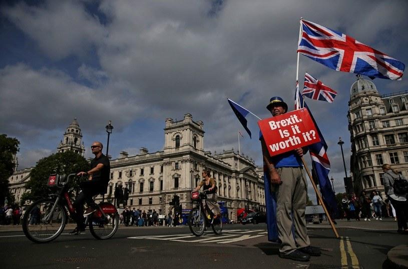 Brytyjczycy nie są już zwolennikami brexitu? /AFP