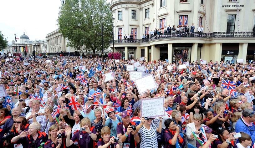 Brytyjczycy powitali swych olimpijczyków i paraolimpijczyków /AFP