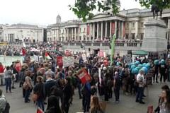 Brytyjczycy protestują przeciwko wizycie Trumpa