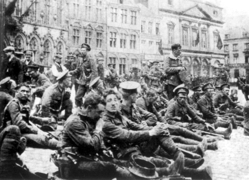 Image result for battle of mons 1914