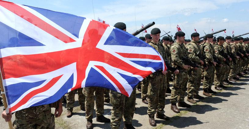 Brytyjscy żołnierze /AFP