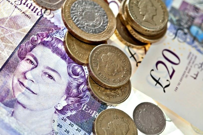 Brytyjska gospodarka się kurczy, a notowania funta stają się coraz bardziej neurotyczne /©123RF/PICSEL