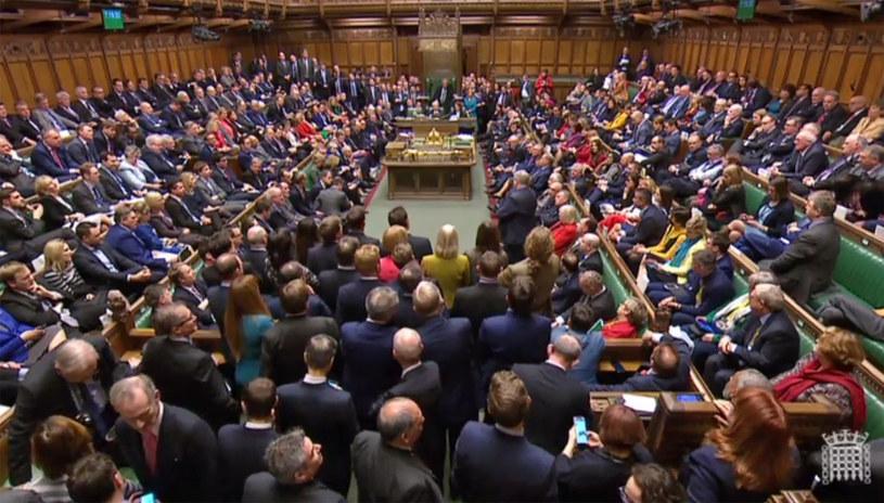 Brytyjska Izba Gmin /AFP