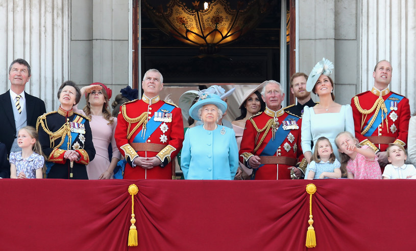 Brytyjska królowa zasiada na tronie  67 lat /Getty Images