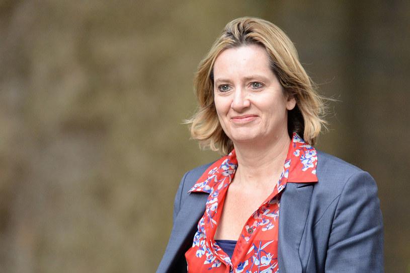 Brytyjska minister spraw wewnętrznych Amber Rudd /AFP