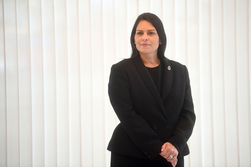 Brytyjska minister spraw wewnętrznych Priti Patel /AFP