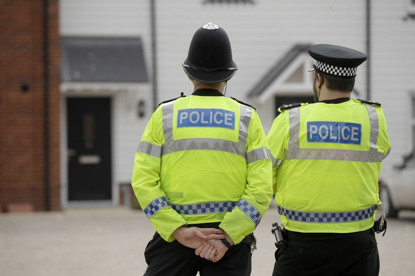 Brytyjska policja w w Amesbury /AFP