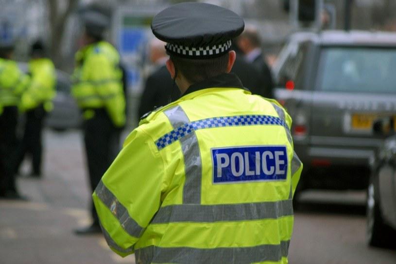 Brytyjska policja wyjaśnia okoliczności zdarzenia /AFP