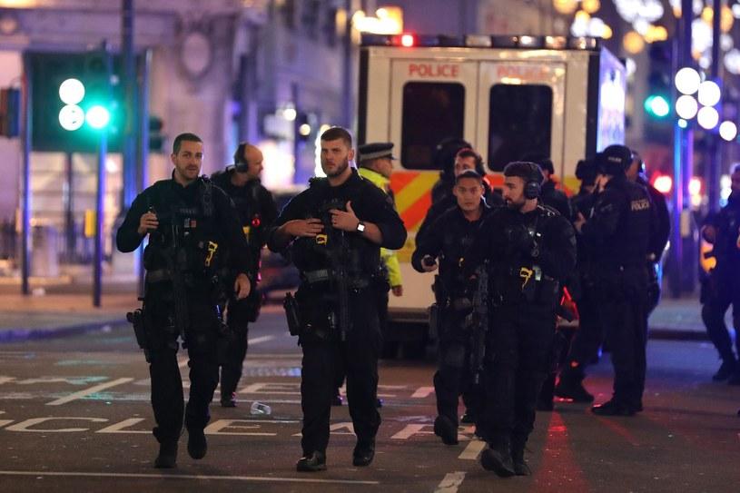 Brytyjska policja, zdj, ilustracyjne /DANIEL LEAL-OLIVAS /AFP