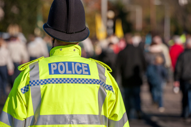Brytyjska policja, zdjęcie ilustracyjne /123RF/PICSEL