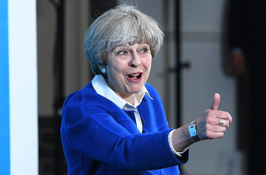 Brytyjska premier Theresa May /FACUNDO ARRIZABALAGA/POOL /PAP/EPA
