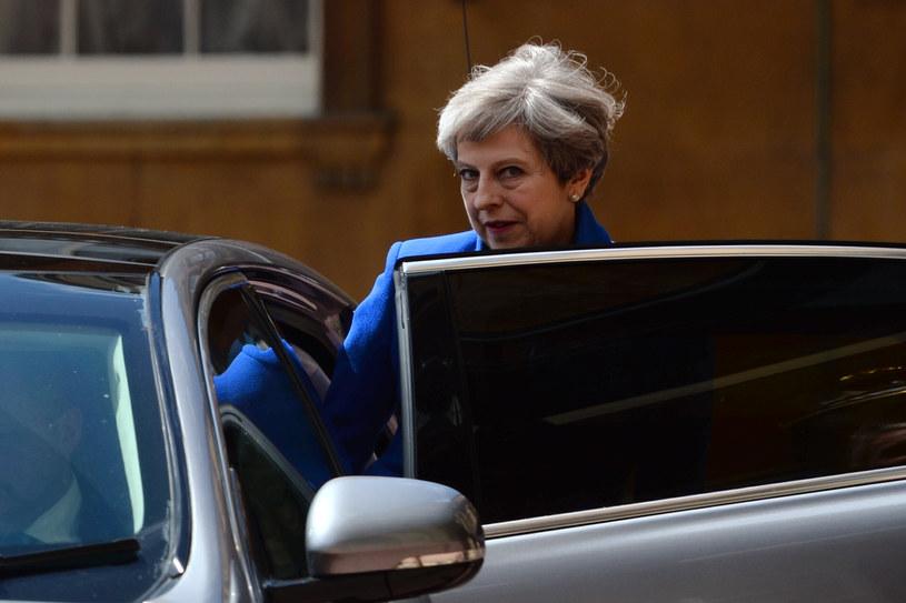 Brytyjska premier Theresa May /Victoria Jones /AFP