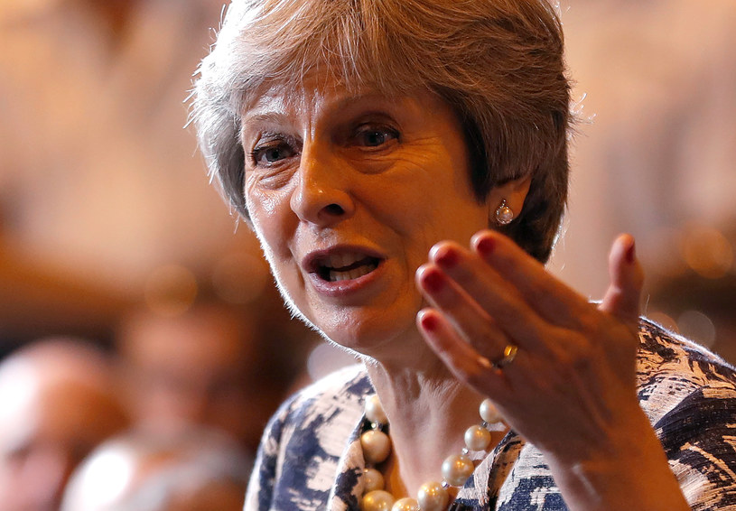 Brytyjska premier Theresa May /RUSSELL CHEYNE /AFP