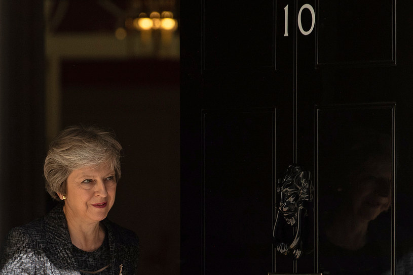 Brytyjska premier Theresa May /AFP